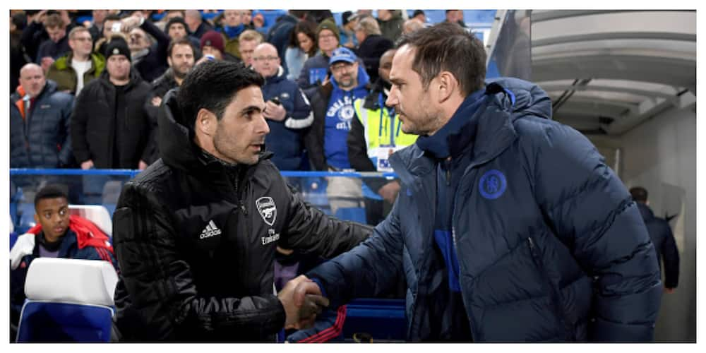 Frank Lampard pleads for more time for Arteta ahead of London derby