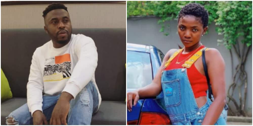 Samklef Finally Apologises to Simi and for His Statement about Single Mothers Raising Toxic Women