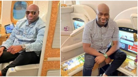 Nigerians react as Mompha slams those calling him gay in new post