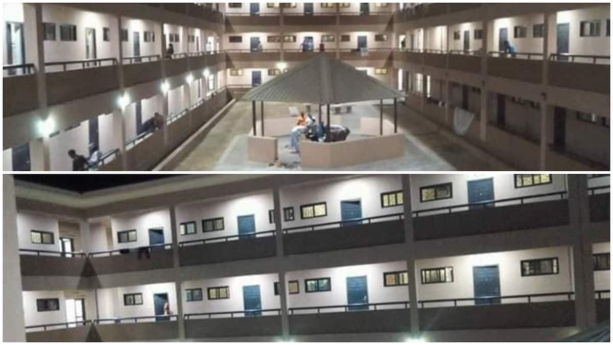 Photos of hostel at Sule Lamido University Jigawa go viral