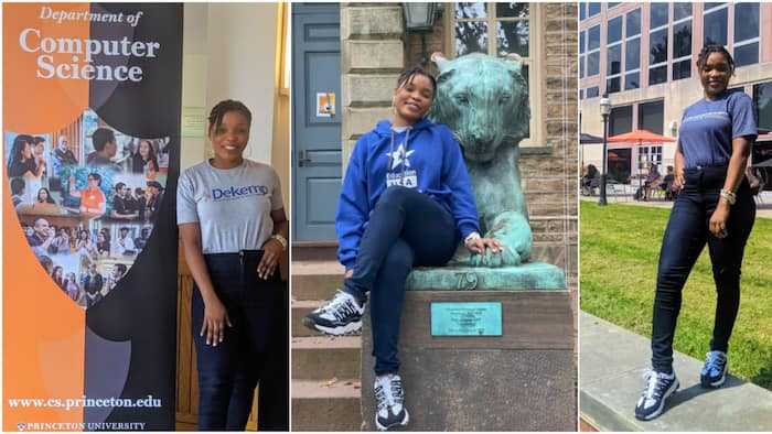 22-year-old Nigerian lady wins big, bags several PhD offers abroad, shares cute photos amid celebration