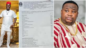 Obi Cubana and ChiefPriest become case study in a university examination, photo of the question paper goes viral