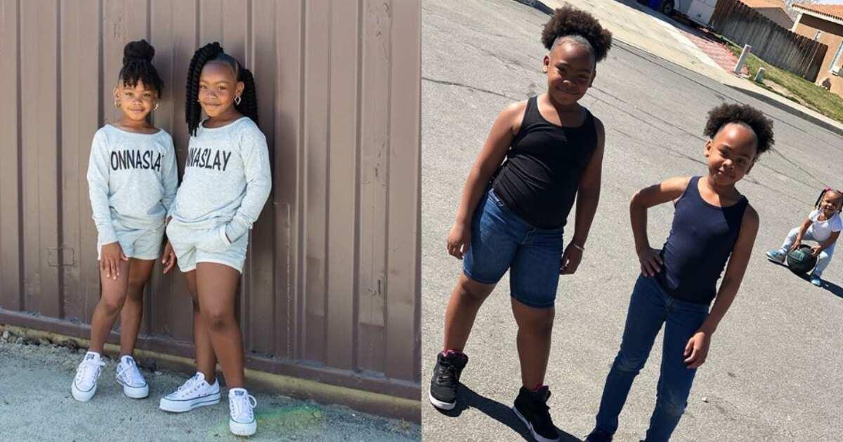 Meet 2 kid sisters who braid hair like pro, videos of their skills go viral