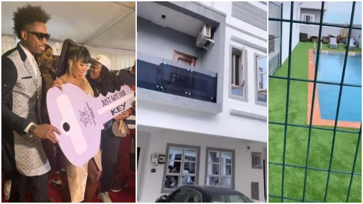 Image result for images of BBNaija winner, Mercy bought the 4-bedroom duplex