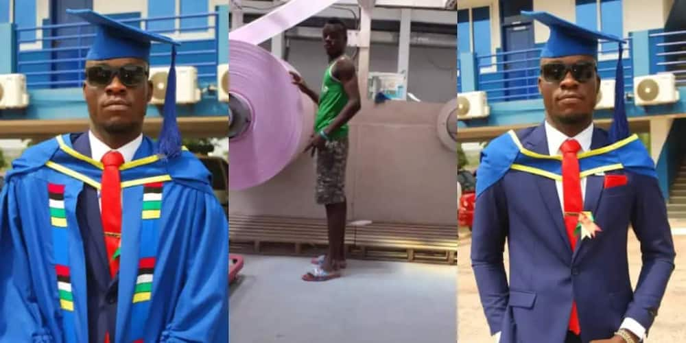 I nearly dropped out of varsity in my 1st year - Ghanaian man recounts hard times with single mom