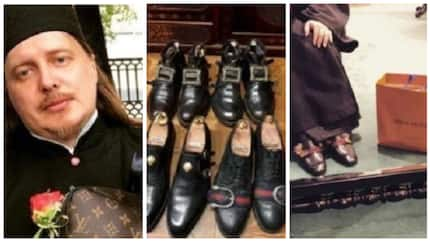 Russian priest sparks controversy after displaying Louis Vuitton bags and Gucci shoes online