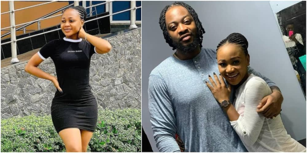 Ghanaian actress Akuapem Polo slammed for gushing over Teddy A's lips in new photo