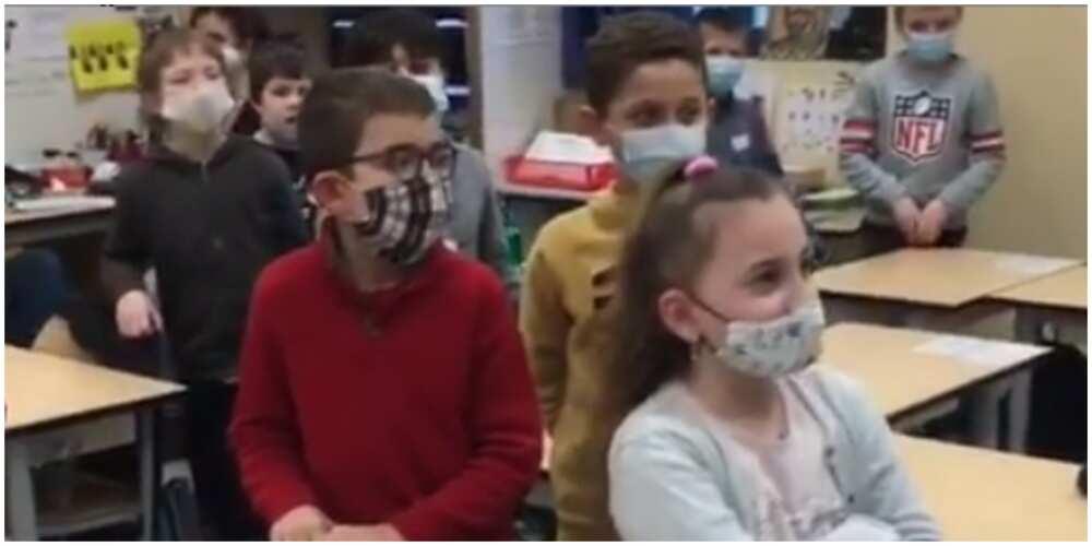 White school kids learn how to greet in Yoruba language (video)