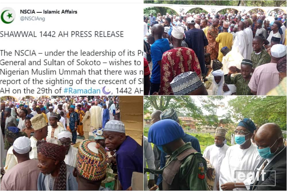 Eid-El-Fitr: Controversy as Chief Imam of Ibadanland Defies Sultan, Leads Muslims to Observe Prayer