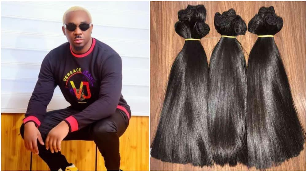 Petty Mike says bone straight hair is not new, but people made it expensive
