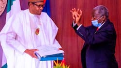 Alleged corruption: Buhari finally reveals why he set up judicial panel to probe Magu