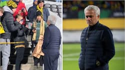 Mourinho does something unforgettable to Norwegian fans before Roma's 6-1 loss