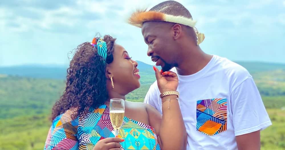 From the DM to the timeline: Couple share pics of their love glow up