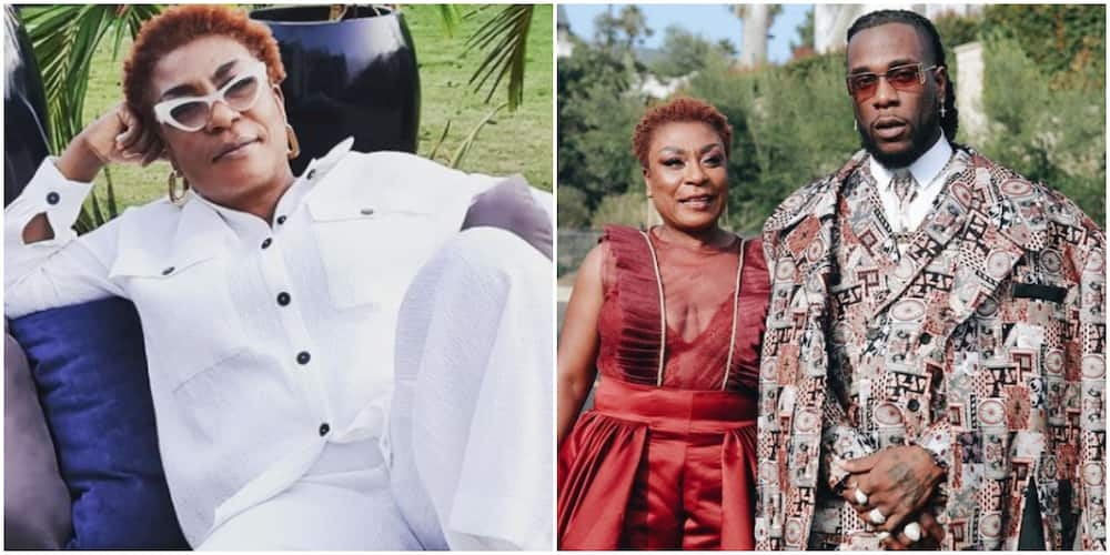 I made up my mind that it is more important to be respected than be liked, Burna Boy's mum dishes advice
