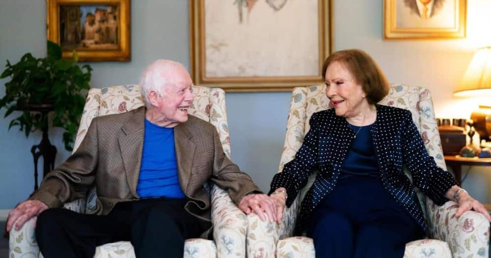 Jimmy Carter revealed during an interview that he and Rosalynn always find fun-filled activities to engage in.