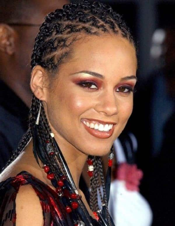 That would Alicia keys hairstyles agree, very
