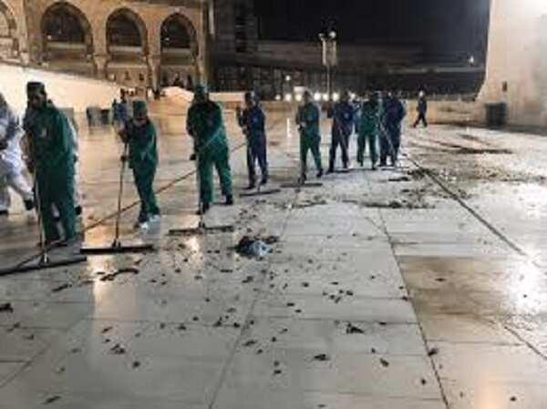 Saudiyya: Wasu mayun fari sun mamaye garin Makkah, hotuna