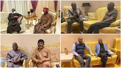 Roll call: List of governors, senators, reps, other prominent politicians who have visited Tinubu in London