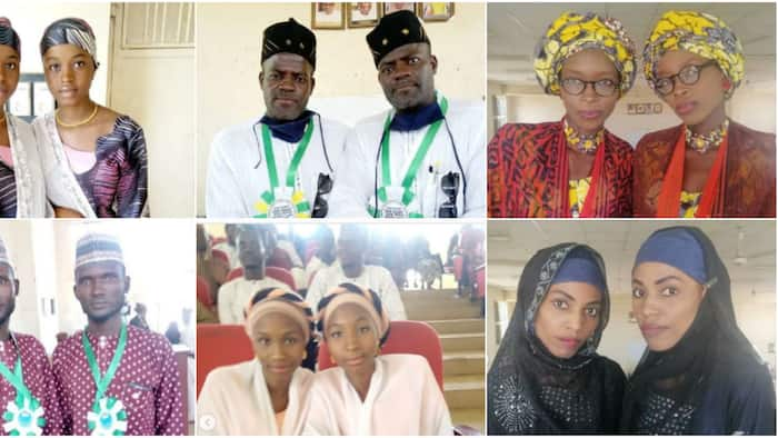 Massive reactions as Kano state association of twins holds general meeting, adorable photos light up the net