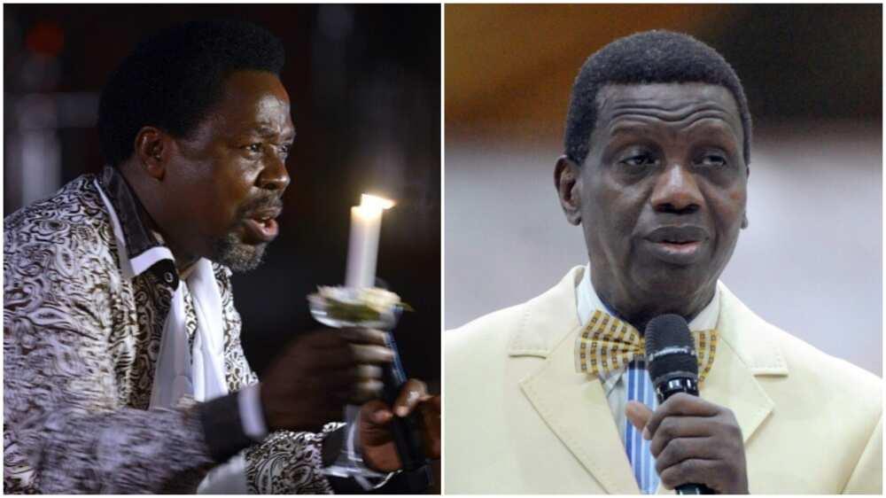 Prophet TB Joshua: Pastor Adeboye Sends Condolence Message to Wife