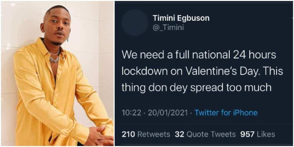 Actor Timini Egbuson says