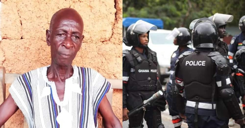 They stood me in the sun for 5 hours - 90-year-old man recounts encounter with Ghana police