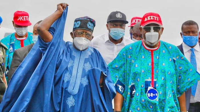 Tinubu in UK: We're awaiting our Capone's return to take crucial 2023 decisions, APC governor Akeredolu