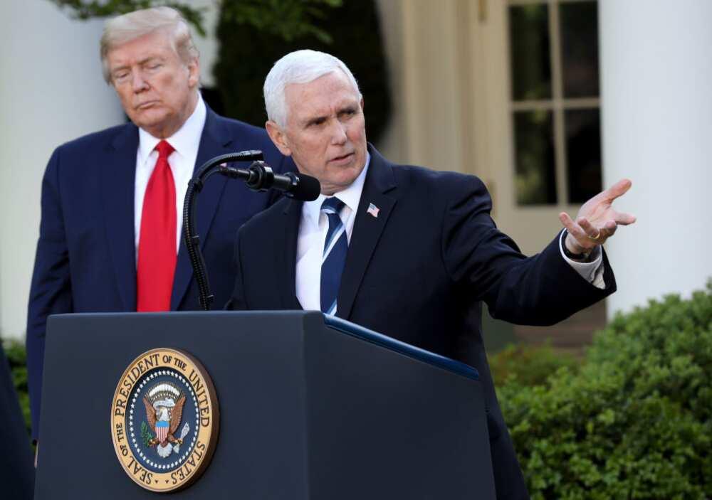 US presidential inauguration: Mike Pence shuns Trump's farewell celebration