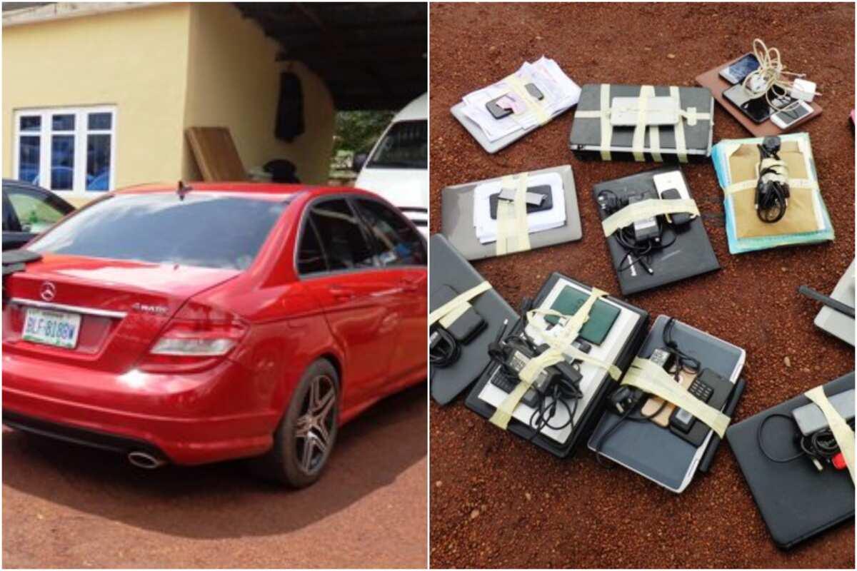 EFCC arrests 13 suspected Yahoo-Yahoo boys in Enugu (photos) ▷ Nigeria news - Legit.ng