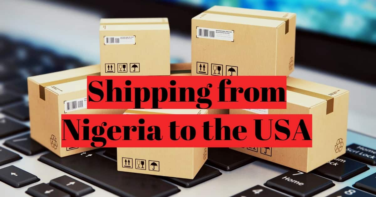 Shipping from Nigeria to USA
