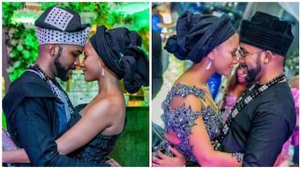 Waiting till I found my wife was the best decision I've made - Banky W says as he celebrates first anniversary