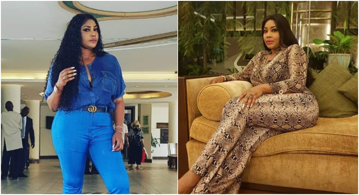 Why would I live a fake life when I have money to lavish on myself - Actress Angela Okorie - Legit.ng