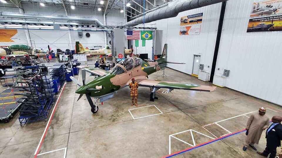 Nigerian Air Force denies arrival of Super Tucanos
