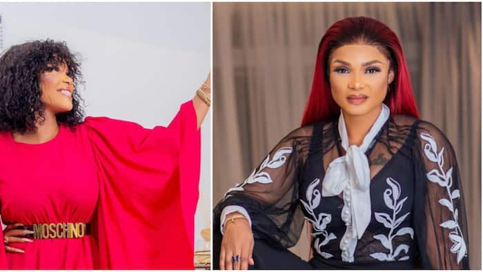 Actress Iyabo Ojo receives award for best comedian on social media, fans congratulate her