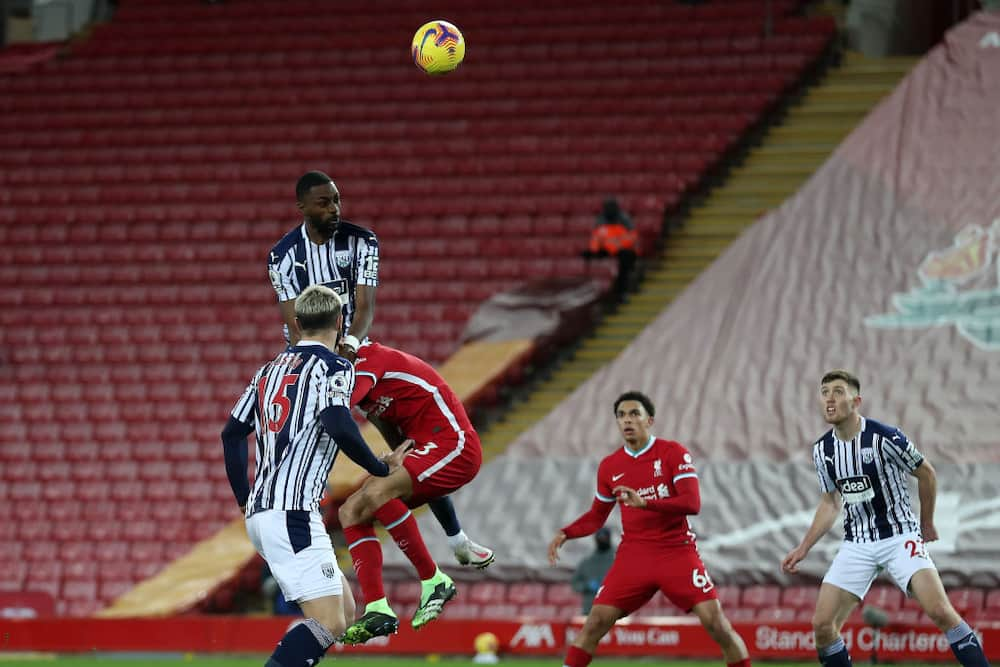 Liverpool vs West Brom: Semi Ajayi's late header denies Reds maximum points at Anfield