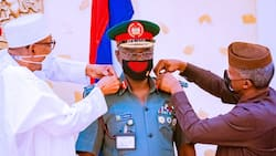 We've been sending bandits to God - COAS declares after decoration, video, photos emerge