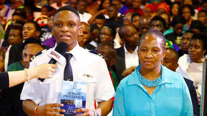 Famous pastor performs proxy miracle with holy water, young man become certified private pilot