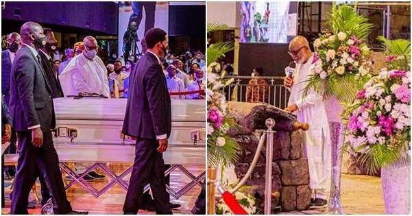 Akeredolu says TB Joshua gave him money after his governorship election victory