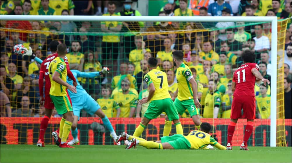 High-flying Liverpool thrash Norwich 3-0 to hand Reds Stunning Start to Premier League Season