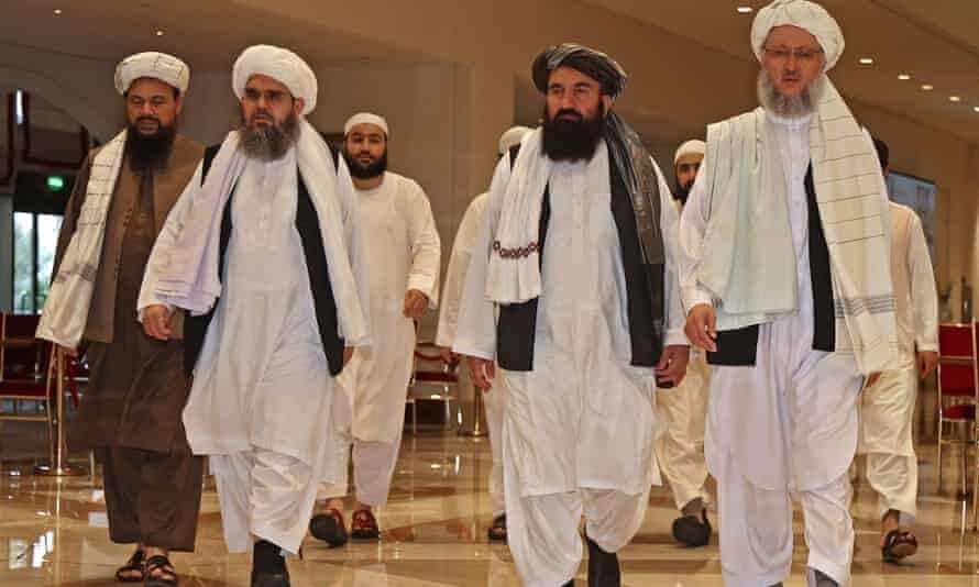 Dakarun Amurka sun gana da shugabannin Taliban kan batun Afghanistan