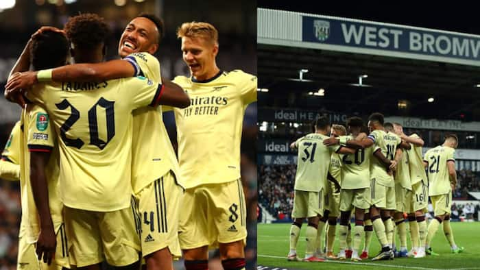 Aubameyang scores hattrick as Arsenal cruise to victory over top English club in style
