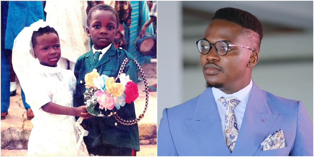 Nigerian Man Searches for Little Bridesmaid He Was Paired With as Ringbearer 26 Years Ago, Shares Cute Photos