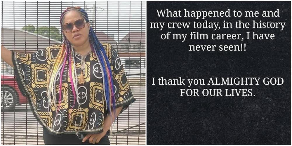 Colleagues Show Concern as Actress Toyin Abraham Recounts Recent Life-Threatening Incident