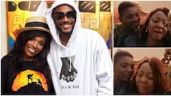 No war in their home: Senator Ita-Giwa gushes over 2baba and Annie as they show up at her house for dinner