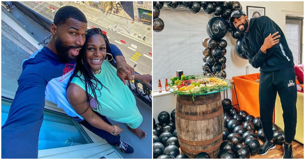 BBNaija's Mike Edwards clocks 30 in style, visits Spain with heavily pregnant wife