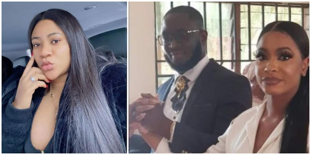 Nkechi Blessing Sunday celebrates two fans who got married to each other