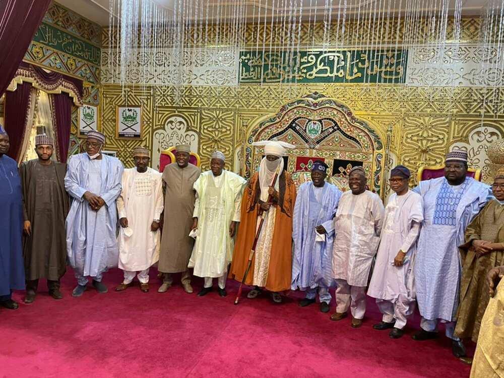 Breaking: Despite Opposition, Ganduje Leads Bola Tinubu to Emir of Kano's Palace