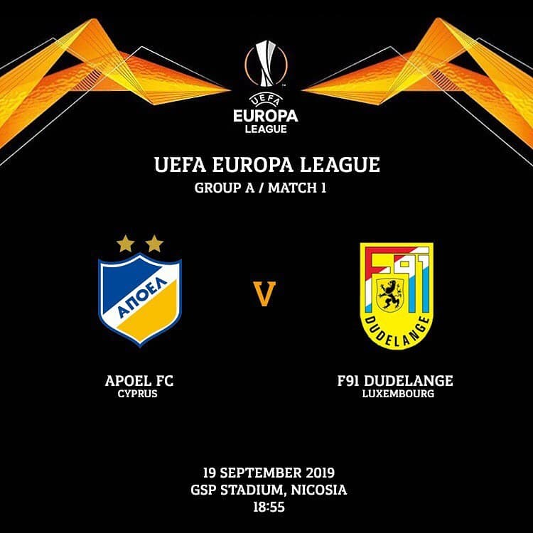 APOEL Nicosia vs Dudelange