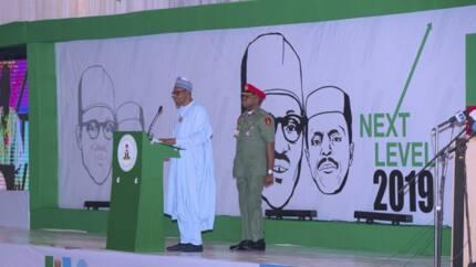 2019: An sako Buhari a gaba a kan satar basira a salon kamfen dinsa