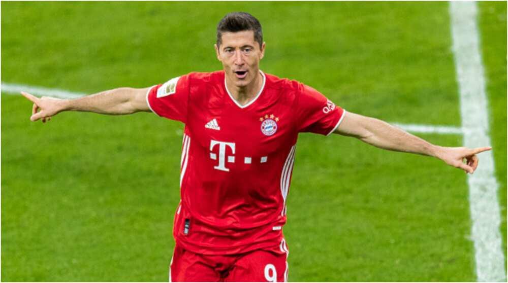 Robert Lewandowski beats Ronaldo, others to become No.1 in top 10 best strikers